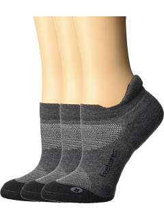 Пакет Elite Max Cushion No Show с 3 парами Feetures