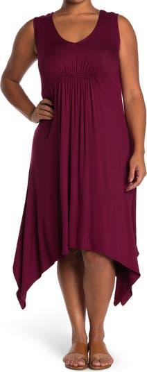 Платье с V-образным вырезом и завышенной талией Forgotten Grace