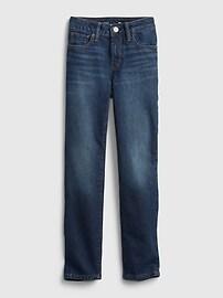 Kids Girlfriend Jeans with Washwell Gap