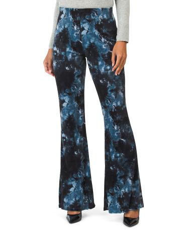 Бархатные широкие брюки Juniors Made In Usa с принтом тай-дай Band of Gypsies