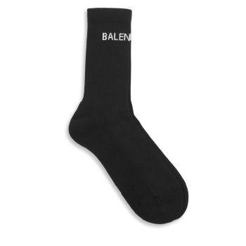 Теннисные носки с логотипом Balenciaga