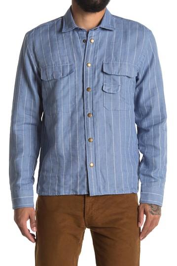 Рубашка обычного кроя в полоску из шамбре Billy Reid