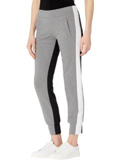 Штаны для бега с боковой полосой Norma Kamali