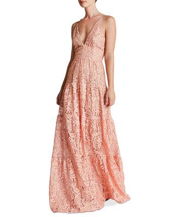 Кружевное платье-макси Melina Dress the Population