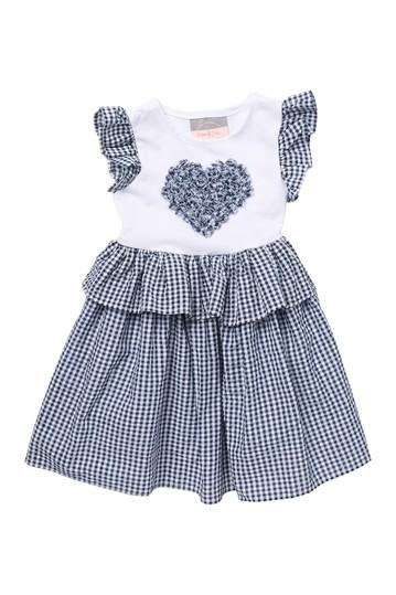 Сутажное платье в форме сердца (для малышей, маленьких девочек и больших девочек) Pastourelle by Pippa and Julie