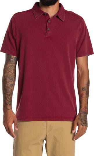 Однотонная рубашка-поло с короткими рукавами Brooks Brothers COASTAORO