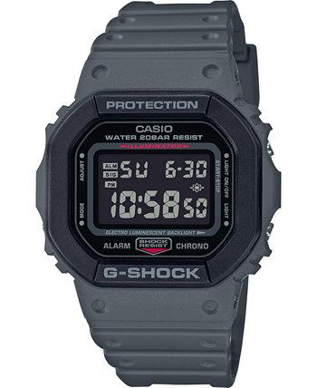 Мужские цифровые часы с серым полимерным ремешком, 43,8 мм G-Shock