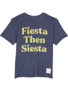 Футболка с круглым вырезом Tri-Blend Fiesta Then Siesta (для малышей) The Original Retro Brand Kids