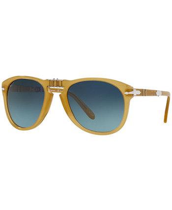 Мужские поляризованные солнцезащитные очки, PO0714SM 54 Persol