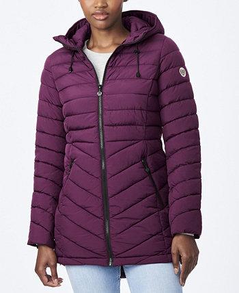 EcoPlume Стеганое пальто Micro Touch Bernardo
