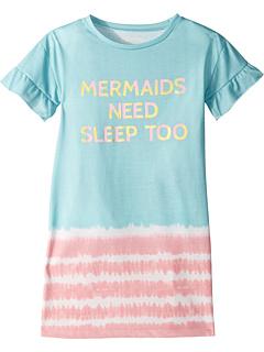 Рубашка Mermaid at Heart Night (для малышей / маленьких детей / больших детей) P.J. Salvage Kids