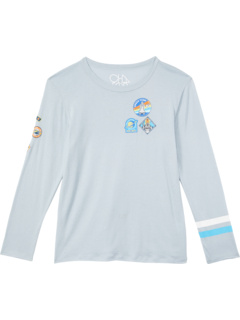 Футболка с длинным рукавом с круглым вырезом Cloud Jersey (для малышей / маленьких детей) Chaser Kids