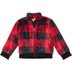 Woodland Buffalo Plaid Fleece Jacket (Toddler/Little Kids/Big Kids) Appaman Kids