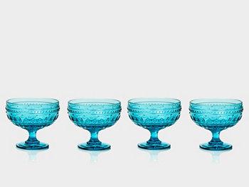 Компотные стаканы Fez Footed, набор из 4 шт. Euro Ceramica