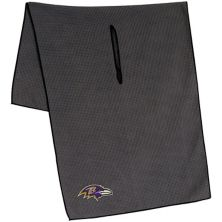 "Baltimore Ravens 19"" x 41"" Gray Microfiber Towel Unbranded"