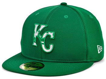 Канзас-Сити Роялс 2020 Мужская шапка на день Св. Паттиса New Era