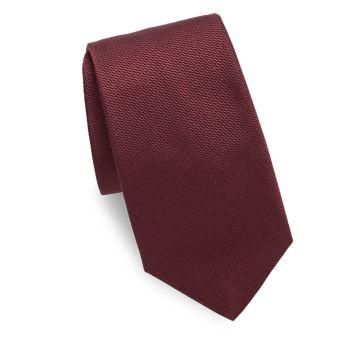 Галстук из фактурного шелка Saks Fifth Avenue Made in Italy