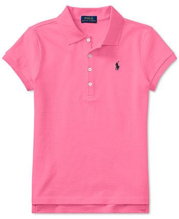 Рубашка поло для маленьких девочек Ralph Lauren