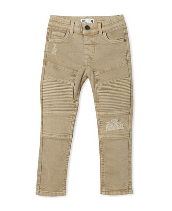 Big Boys Skinny Fit Moto Jeans COTTON ON