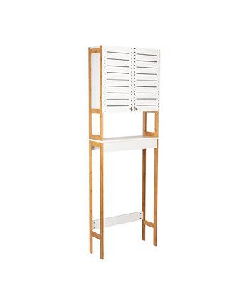 3 полки над унитазом, бамбуковый шкаф для экономии места Neu Home