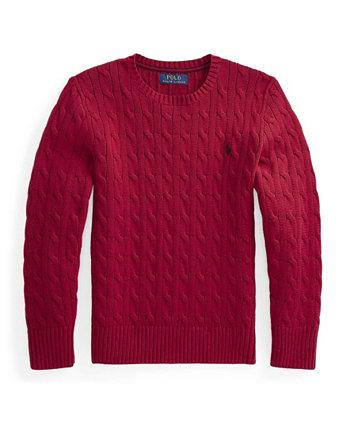 Вязаный вязаный свитер Big Boys Ralph Lauren