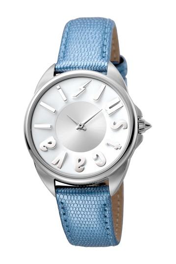 Женские часы с кожаным ремешком с логотипом, 34 мм Just Cavalli