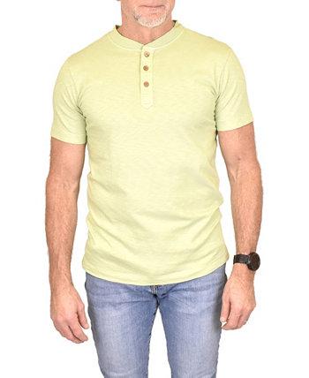 Рубашка мужская Negative Slub Henley Vintage 1946