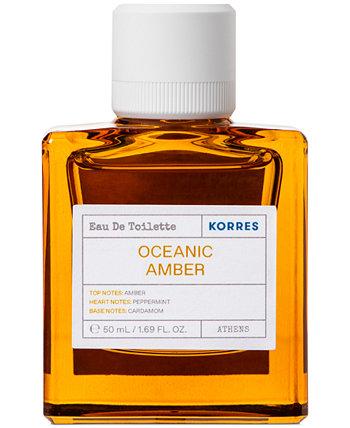 Мужская туалетная вода Oceanic Amber, 50 мл KORRES