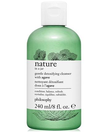 Нежное очищающее средство с экстрактом агавы Nature In A Jar, 8 унций. Philosophy