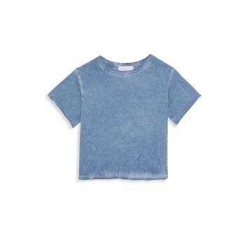 Маленькая девочка & amp; Рваная футболка для девочек Bella dahl