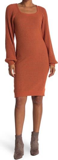 Платье-свитер в полоску с рукавами Nanette nanette lepore