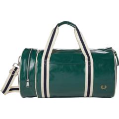 Классическая сумка-бочонок с цветными блоками Fred Perry