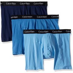 Набор трусов-боксеров Elements 3 Pack Calvin Klein