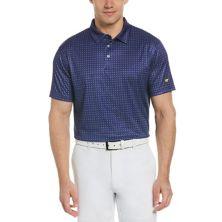 Мужская футболка-поло для гольфа с геометрическим рисунком Jack Nicklaus StayDri Classic Fit Jack Nicklaus