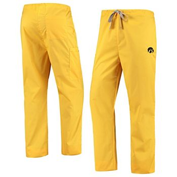 Gold Iowa Hawkeyes Drawstring Cargo Pants Unbranded