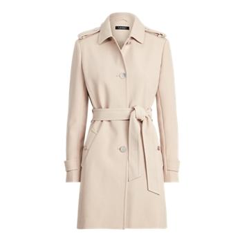 Crepe City Coat Ralph Lauren