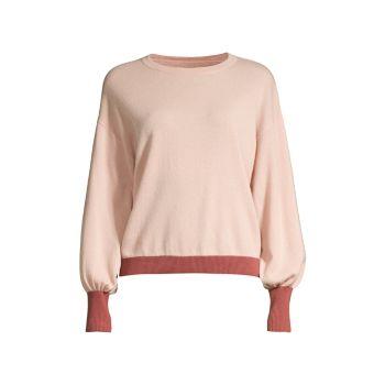Двухцветная шерсть и Кашемировый свитер Seventy