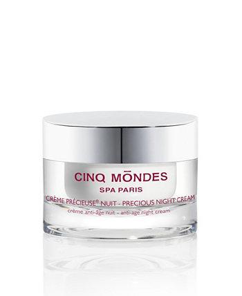 Драгоценный ночной крем для лица, 1,7 жидкой унции Cinq Mondes