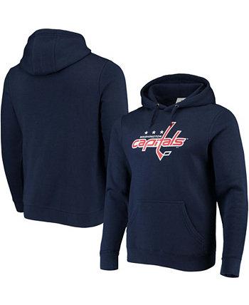 Мужская флисовая толстовка с капюшоном с логотипом Washington Capitals Primary Team Fanatics