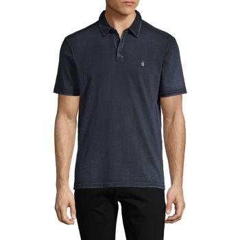 Peace Short-Sleeve Cotton Polo John Varvatos Star U.S.A.