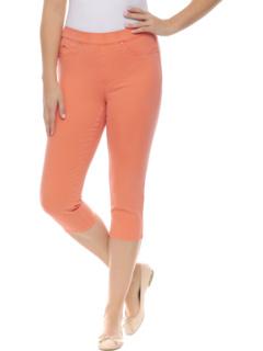 Яркие капри из европейского твила без застежек FDJ French Dressing Jeans