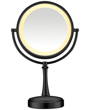 Двустороннее зеркало для макияжа с сенсорным управлением и подсветкой Conair