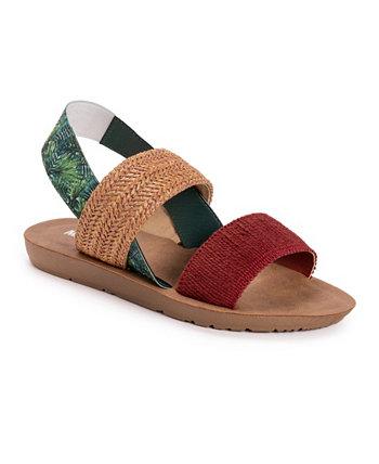 Женские сандалии на плоской подошве About Time MUK LUKS