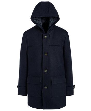 Пальто Big Boys Classic-Fit темно-синее с капюшоном Ralph Lauren