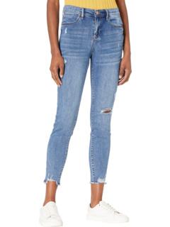 Темно-синие джинсы Destructed Denim Nicole Miller New York