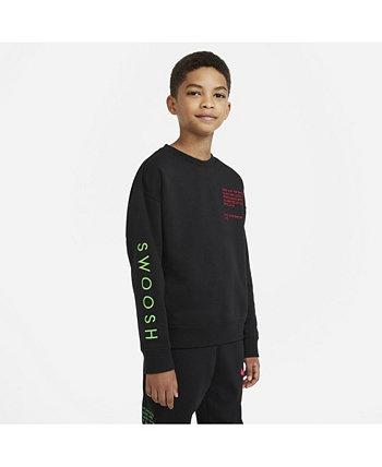 Big Boys Sportswear Swoosh Crew Nike