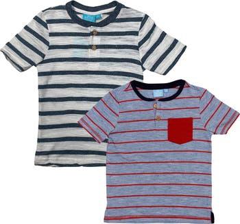 Вязаные футболки Henley - 2 шт. В упаковке BEAR CAMP