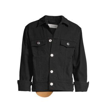 Джинсовая куртка с ковровым покрытием Lanvin
