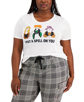 Модная футболка больших размеров Hocus Pocus Mad Engine