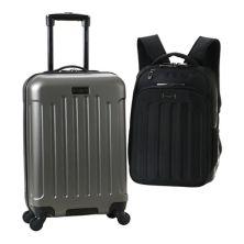 Комплект багажа и рюкзака Hardside Spinner из двух предметов Heritage Lincoln Park Heritage